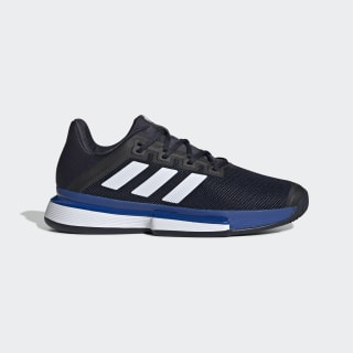 Tenis para canchas de arcilla SoleMatch Bounce Legend Ink / Cloud White / Team Royal Blue EG2219