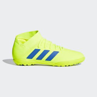 Chuteira Nemeziz Tango 18.3 Society Solar Yellow / Football Blue / Active Red CM8516