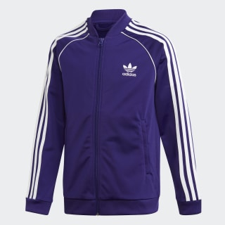 SST Track Jacket Collegiate Purple / White EI9878