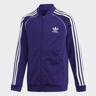 Tepláková bunda SST Collegiate Purple / White EI9878