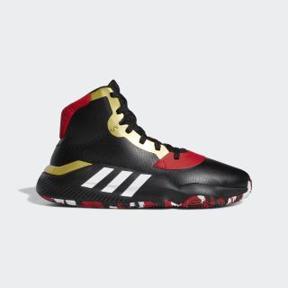 Zapatillas de básquet Pro Bounce 2019 Core Black / Cloud White / Scarlet EH2394