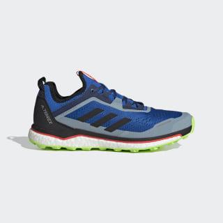 Terrex Agravic Flow Shoes Glory Blue / Core Black / Signal Green EF2115
