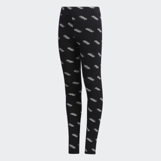 Favorites Leggings Black / White FM0752