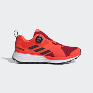 TERREX Two Boa Trailrunning-Schuh Scarlet / Core Black / Solar Red EF2136