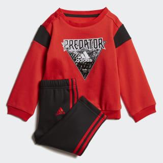 Комплект: джемпер и брюки Mini Me Football active red / black / white DV1234