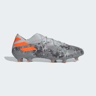 Botas de Futebol Nemeziz 19.1 – Piso firme Grey Two / Solar Orange / Chalk White EF8281