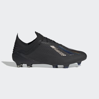 X 18.1 Firm Ground Cleats Core Black / Core Black / Bold Blue BB9346