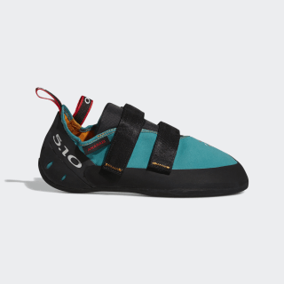 Five Ten Climbing Anasazi LV Shoes Collegiate Aqua / Core Black / Red BC0953