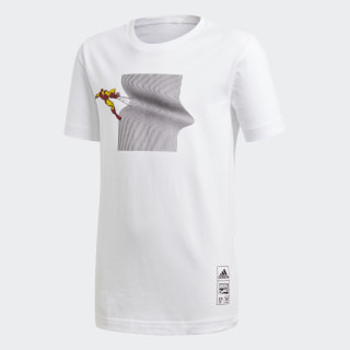 Polera Marvel Iron Man WHITE DM7769