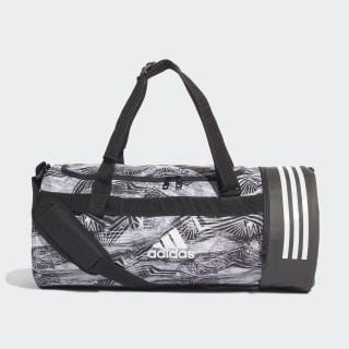Спортивная сумка-дюффель Convertible 3-Stripes black / white / white DZ8706