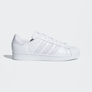 Superstar Shoes Cloud White / Purple Glow / Cloud White BD7429