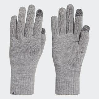 Перчатки Performance medium grey heather / medium grey heather / black DJ1054