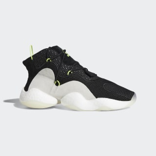 Crazy BYW Shoes Core Black / Cloud White / Solar Yellow B37549