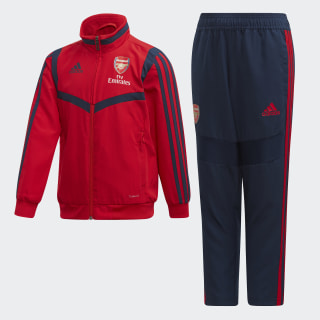 FC Arsenal Präsentationsanzug Scarlet / Collegiate Navy / Collegiate Navy / Scarlet EH5728