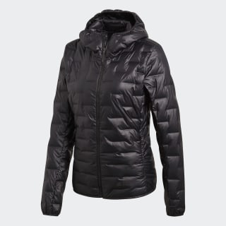 Chaqueta con capucha Light Down Black CY8770