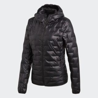 Light Down Hooded Jacket Black CY8770