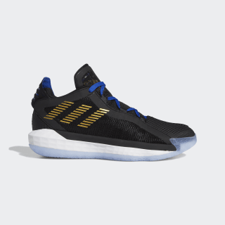 Dame 6 Shoes Core Black / Gold Metallic / Team Royal Blue FU9457