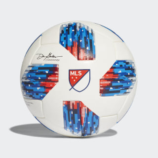 Ballon de match officiel MLS White / Ash Blue / Night Indigo / Power Red CF0010