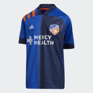 FC Cincinnati Home Jersey Power Blue / Orange EH8674