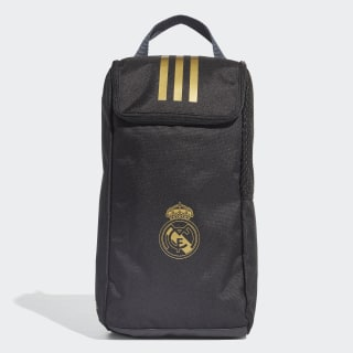 Real Madrid Shoe Bag Black / Dark Football Gold DY7717