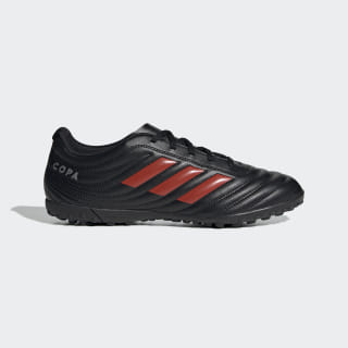 Calzado de Fútbol Copa 19.4 Césped Artificial core black/HI-RES RED S18/silver met. F35482