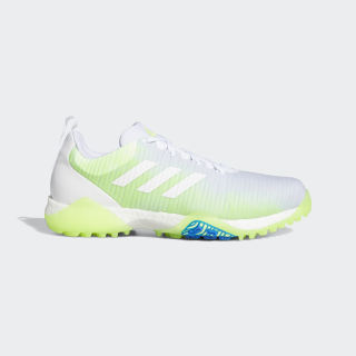 CodeChaos Golf Shoes Cloud White / Signal Green / Glory Blue EE9101