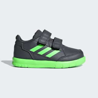 AltaSport Shoes Grey Six / Shock Lime / Ftwr White D96840