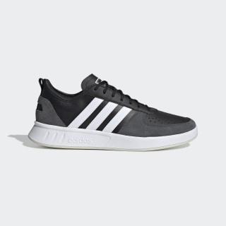 Giày quần vợt thập niên 80 Core Black / Cloud White / Grey Six EE9664
