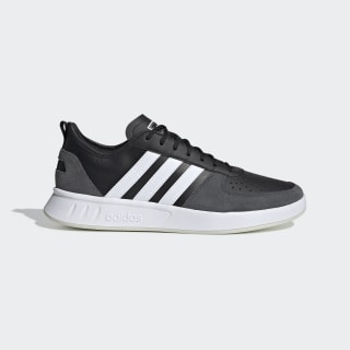 Tenis Court 80s Core Black / Cloud White / Grey Six EE9664