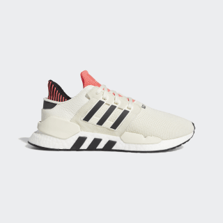 Tenis EQT SUPPORT 91-18 off white / core black / shock red CM8648