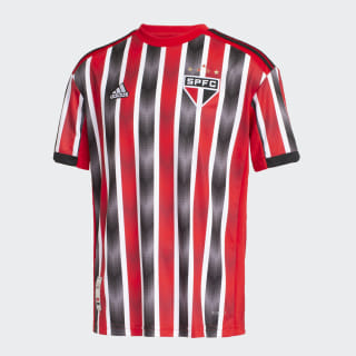 ab75847b744 Camisa São Paulo FC 2 INFANTIL red white black DZ5636