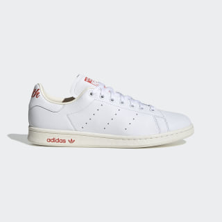 Stan Smith Shoes Cloud White / Trace Scarlet / Off White EF4258