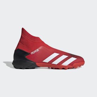 Botas de Futebol Predator 20.3 – Piso sintético Active Red / Cloud White / Core Black EE9576