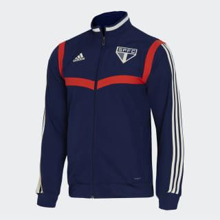 Jaqueta de Apresentação do São Paulo FC Dark Blue / Hi-Res Red DZ5653