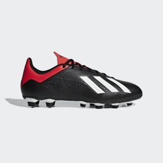 Zapatos de Fútbol X 18.4 FG core black/off white/active red BB9375