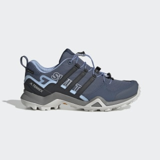 Terrex Swift R2 GTX Shoes Tech Ink / Carbon / Glow Blue G26556