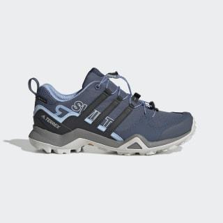 Zapatilla Terrex Swift R2 GORE-TEX Hiking Tech Ink / Carbon / Glow Blue G26556