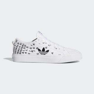 Nizza Trefoil Shoes Cloud White / Core Black / Cloud White EF5075