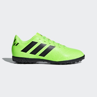 Zapatos de Fútbol Nemeziz Messi Tango 18.4 Césped Artificial SOLAR GREEN/CORE BLACK/SOLAR GREEN DB2402