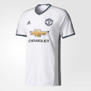 Camiseta Tercer Uniforme Manchester United FC WHITE/BOLD ONIX AI6690
