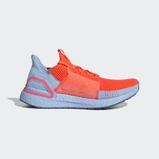 Кроссовки для бега Ultraboost 19 solar red / solar red / glow blue G27505