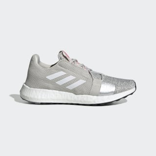 Chaussure Senseboost Go Grey One / Cloud White / Shock Pink EF1579