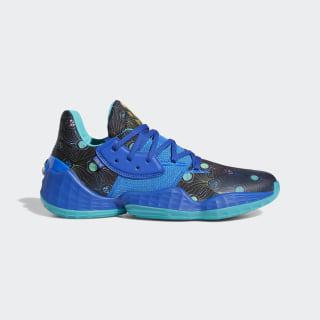 Sapatos Harden Vol. 4 Glow Blue / Royal Blue / Gold Metallic EF9923