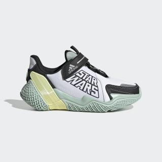 4UTURE RNR Star Wars Shoes Cloud White / Core Black / Green Tint EF9486