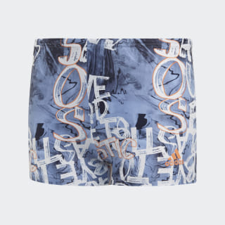 Parley Zwemboxer Glow Blue / Semi Coral EH6284