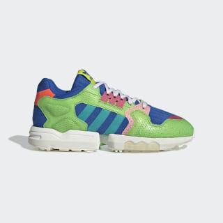 ZX Torsion Parley Shoes Off White / Hi-Res Aqua / Semi Solar Green EG3355
