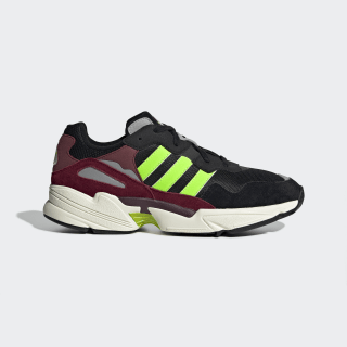 Yung-96 Shoes Core Black / Solar Green / Collegiate Burgundy EE7247