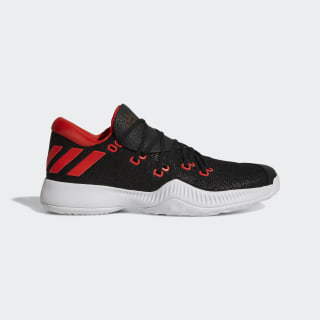 Zapatillas Harden B/E CORE BLACK/FTWR WHITE/HI-RES RED S18 AC7820