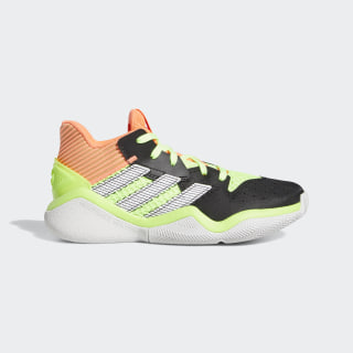 Harden Stepback Shoes Core Black / Signal Coral / Dash Grey EH2769
