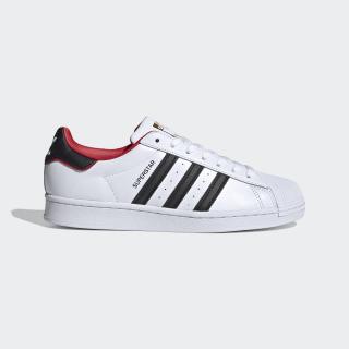 Superstar Shoes Cloud White / Core Black / Scarlet FW6384